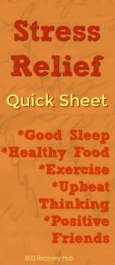 Stress Relief Sheet 800 Recovery Hub
