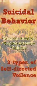Suicide and suicidal behavior