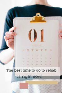 go to rehab in november or december