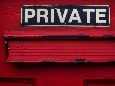 Drug Addiction Privacy