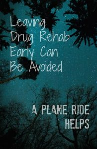 Traveling to drug rehab advice