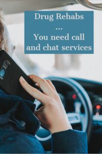 Call Chat Services Drug Rehab
